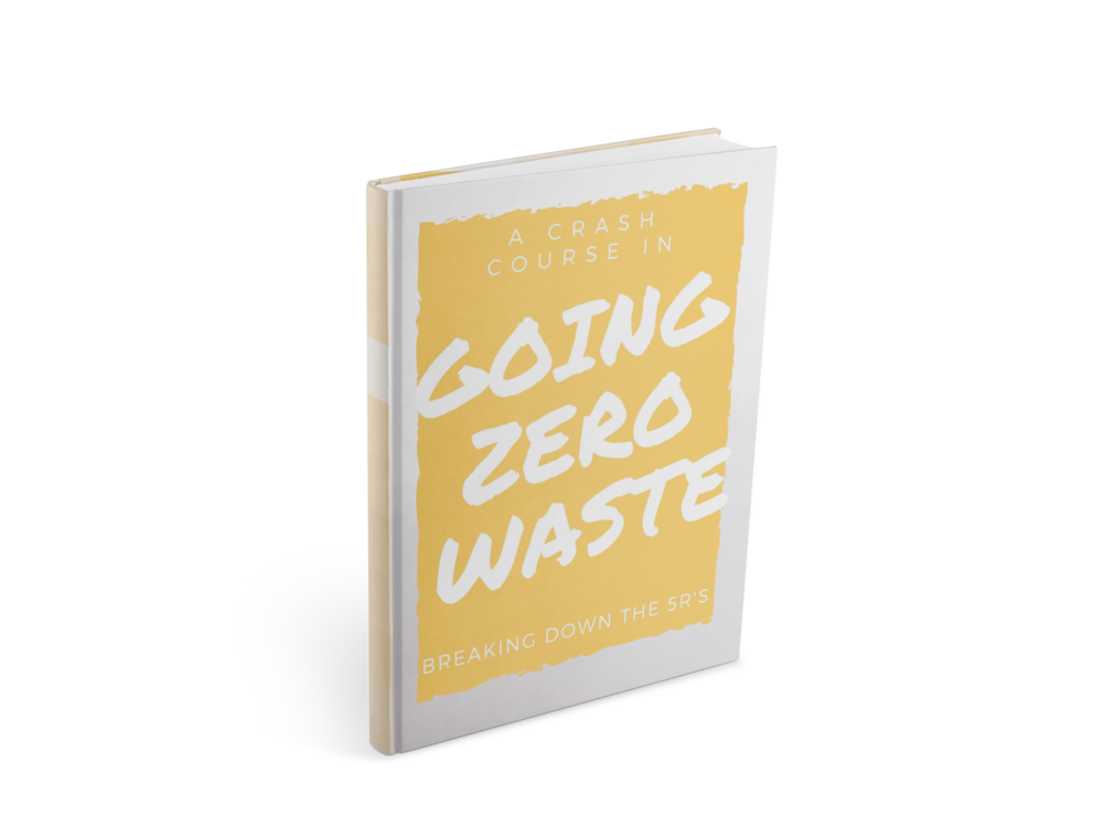 A zero waste eBook, A Crash Course in Going Zero Waste from www.goingzerowaste.com