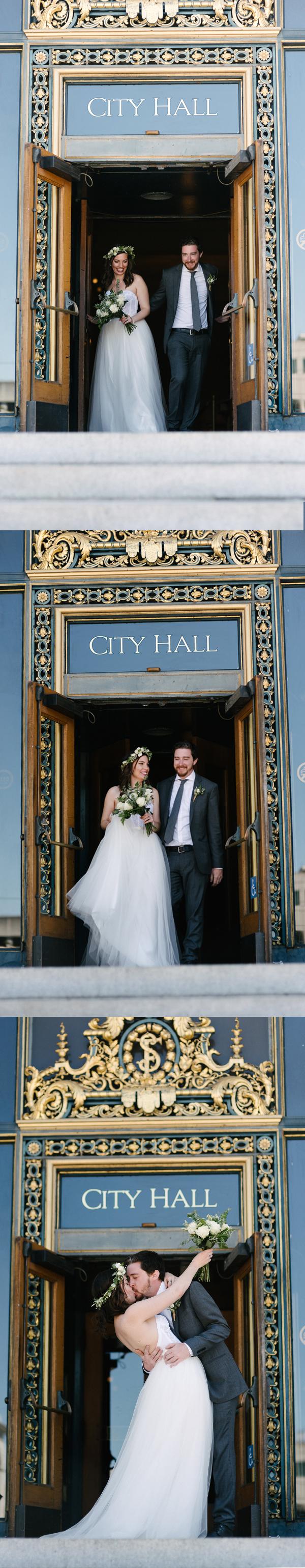 A zero waste wedding at San Francisco City Hall read more at www.goingzerowaste.com