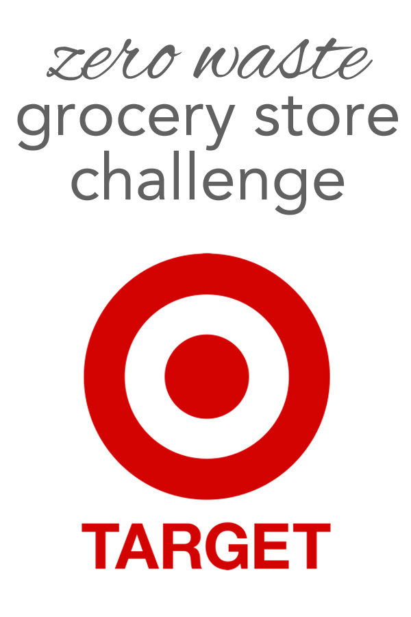 The zero waste grocery store challenge goes to target! Join me on my low waste trip to target and see what options are out there from www.goingzerowaste.com