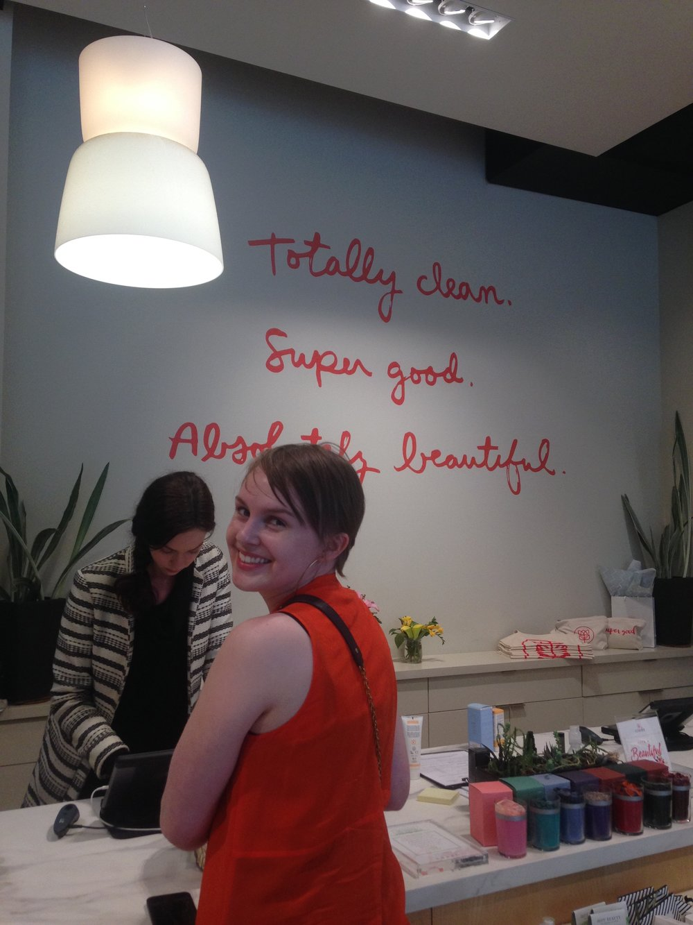 my zero waste bachelorette party, stopping at Credo Beauty in San Francisco from www.goingzerowaste.com