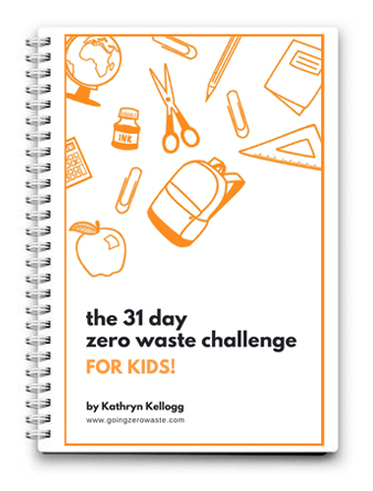 Are you ready for Zero Waste October? Get the 31-Day Zero Waste Challenge For Kids! from www.goingzerowaste.com