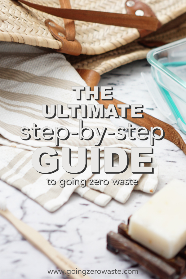 10 Steps to go #zerowaste for beginners from www.goingzerowaste.com