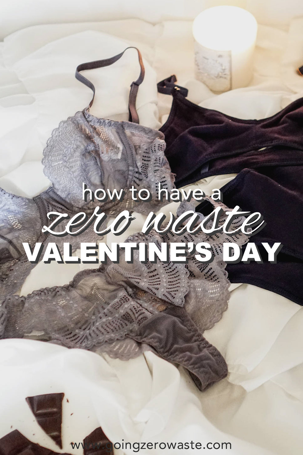How to have a zero waste valentines day from www.goingzerowaste.com