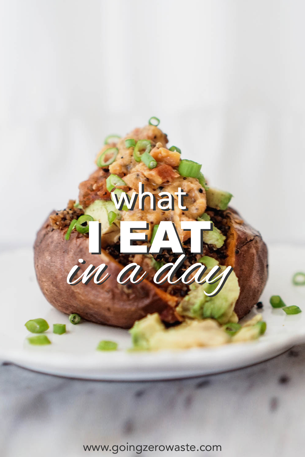 what I eat in a day zero waste edition from www.goingzerowaste.com #zerowaste