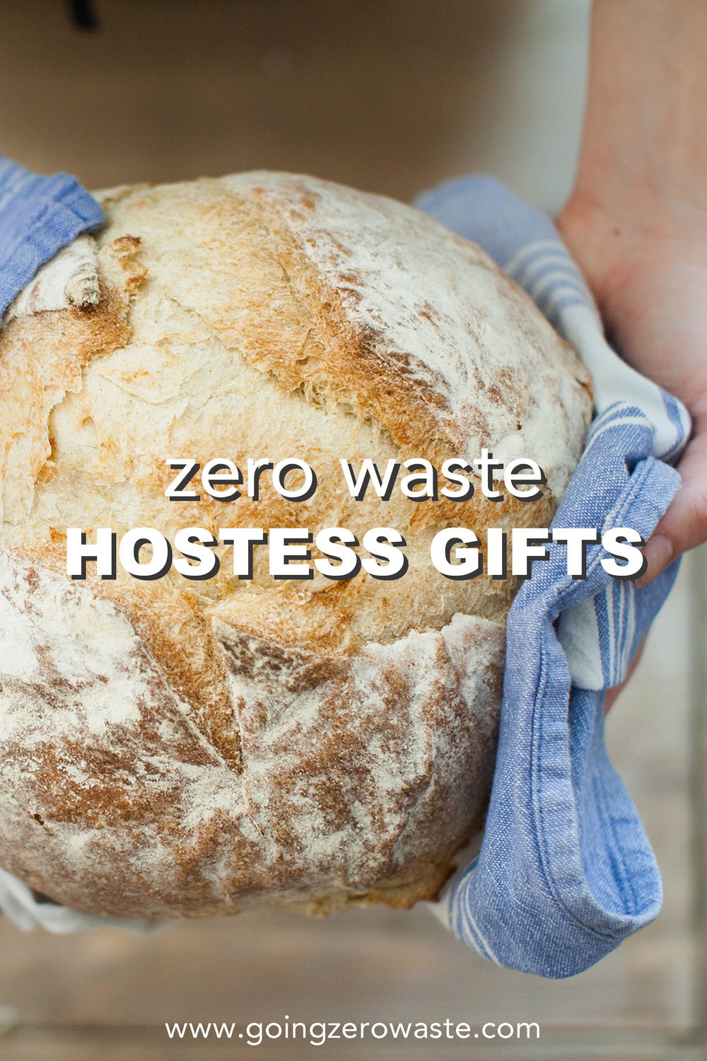 zero waste hostess gifts from www.goingzerowaste.com #zerowaste