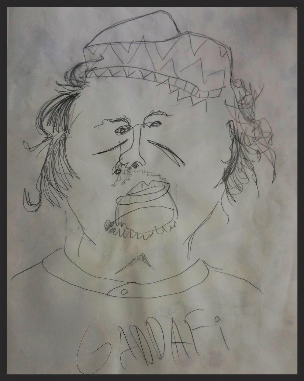 Gaddafi no look - 2012