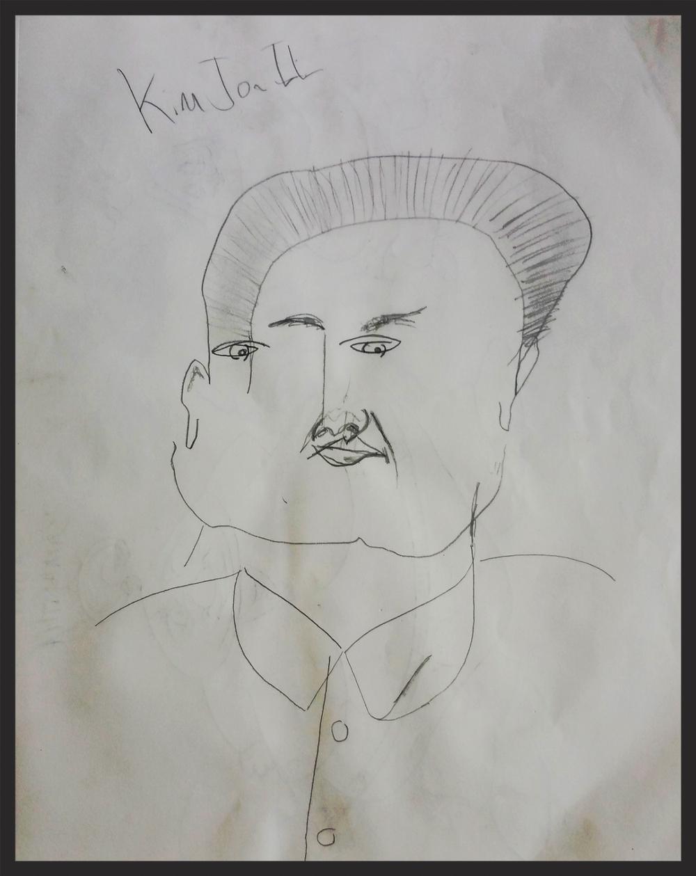 Kim Il Sung no look - 2012