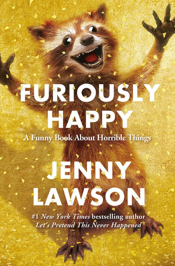 Furiously Happy Jenny Lawson Book Review