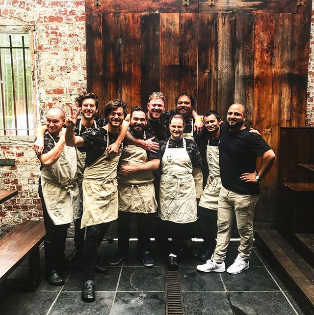 Merry Christmas 🌎 as you can see the team has expanded & these chefs are family to me! What a great year for us all! We wish everyone a merry merry Christmas & a happy new year! We can't wait to show y'all what we have going on in 2018 💙🙏🏻🙌🏻 #merrychristmas