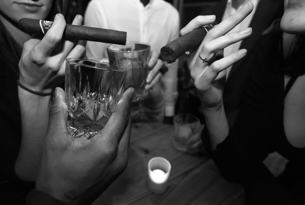 Cigars & Whiskeys - @KIMOTO ROOFTOP
