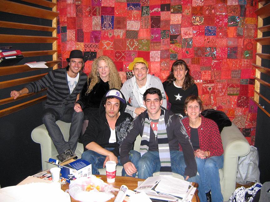 Cast of MTV's American Mall & The Gyrlz, LA