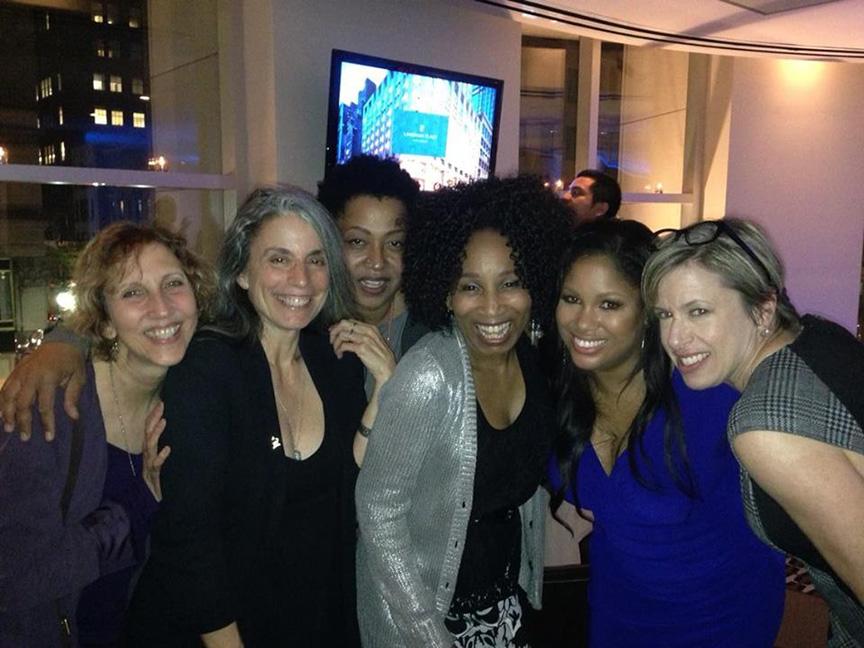 Hanging With Great Women (Judy Tint, Lisa Fischer, Janice Pendarvis, Nicki Richards & Cathleen Murphy) @ Naras Future Now