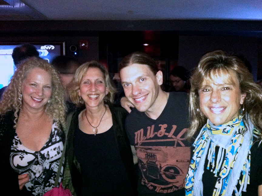 The Gyrlz With Brent Smith Of Shinedown, NYC