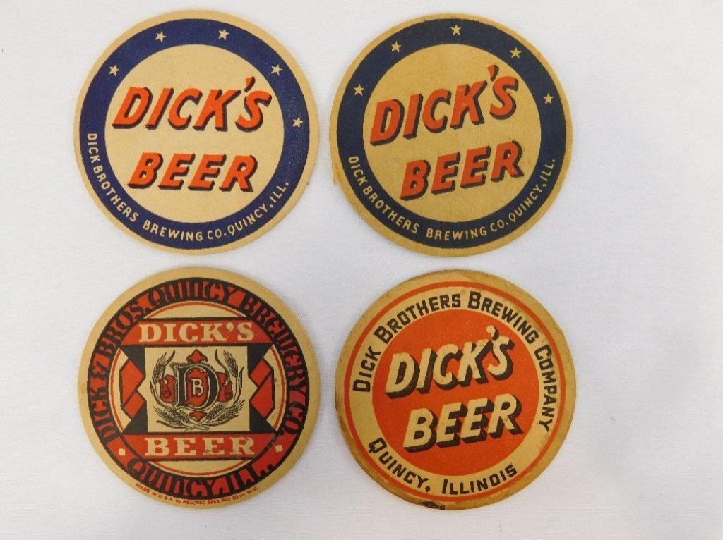 Dick Brothers Brewery Coasters.jpg