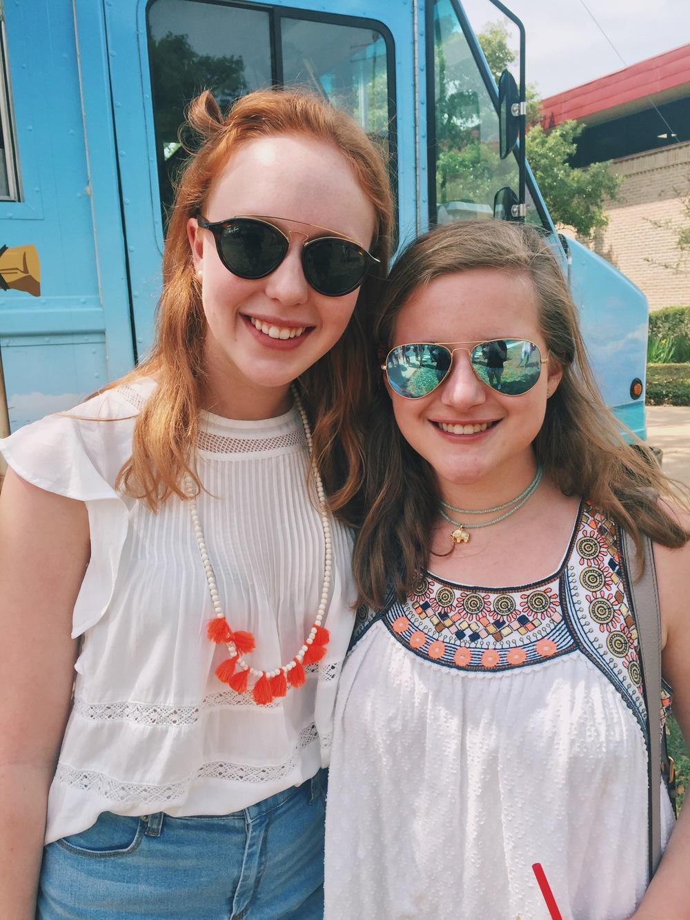 Rachel and Anna Kate