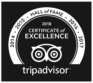 Edge of the World Tours TripAdvisor Hall of Fame Logo.png
