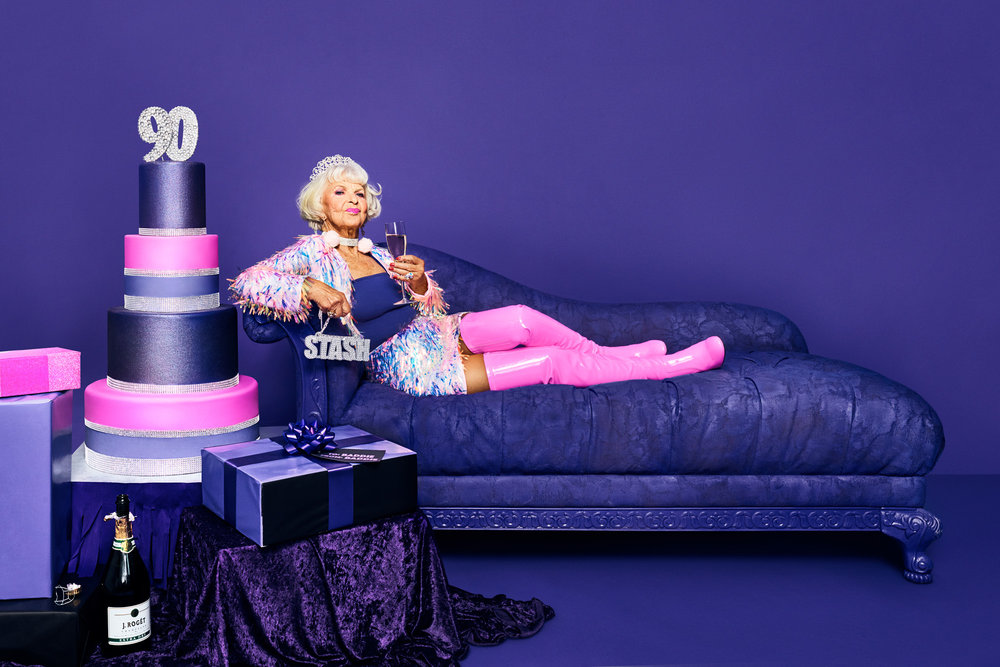 BADDIE WINKLE for STASH - PROP STYLING + PROP DESIGN/BUILDS