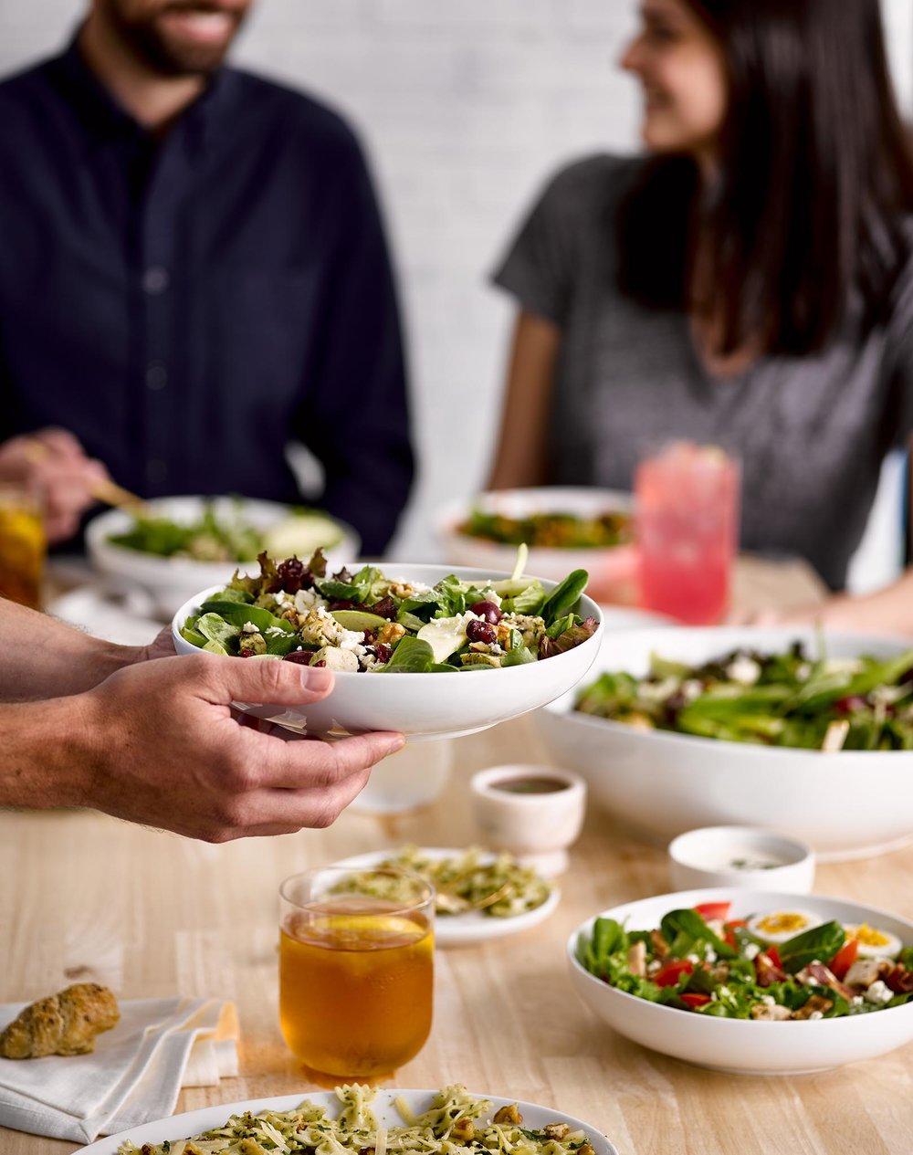 Salata Kitchen - PROP STYLING