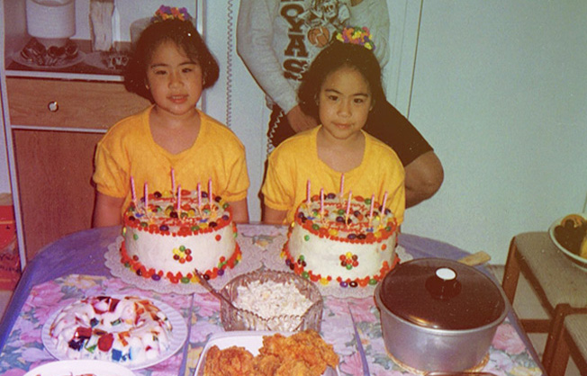Our 6th birthday party, when one cake wasn't enough (shout out to Tita Linda Pastrana for making the cakes!).