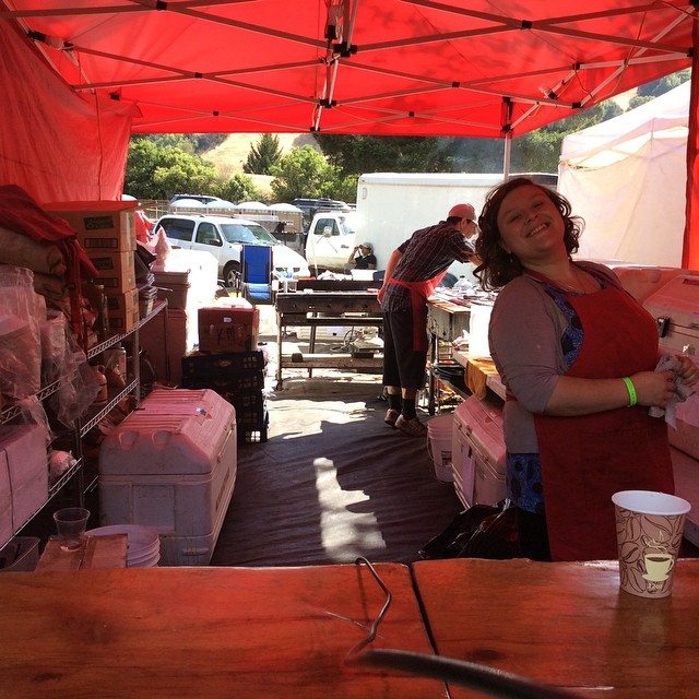 Outlaw Kitchen is open and ready to serve you! Come stop by at the Benbow Summer Arts and Music Festival and eat something delicious!