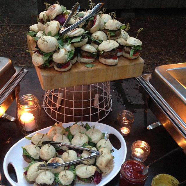 #lambsliders #outlawkitchen #weddingfood #yummy #brio #pamplingrovewedding #madewithlove