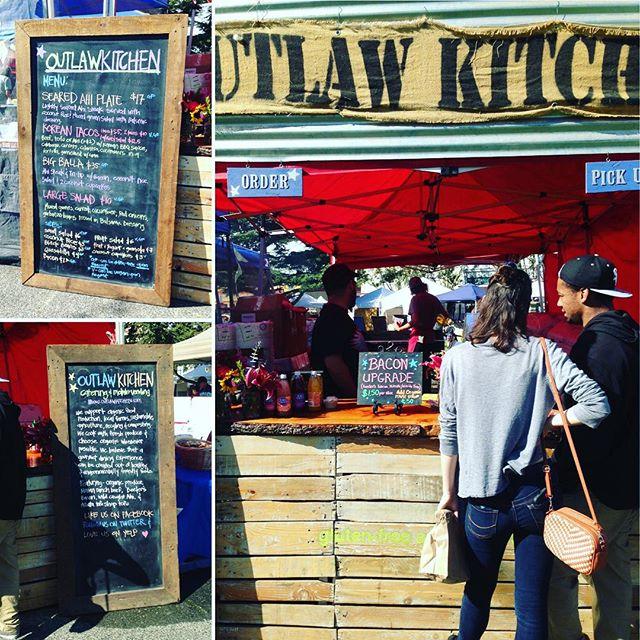 #northcountryfair2015 #yummy #dontpanicitsorganic #madewithlove #ahi #salad #koreantacos #coconutcurryrice