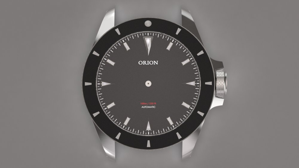 Note the evolution from the Orion 1 dial.