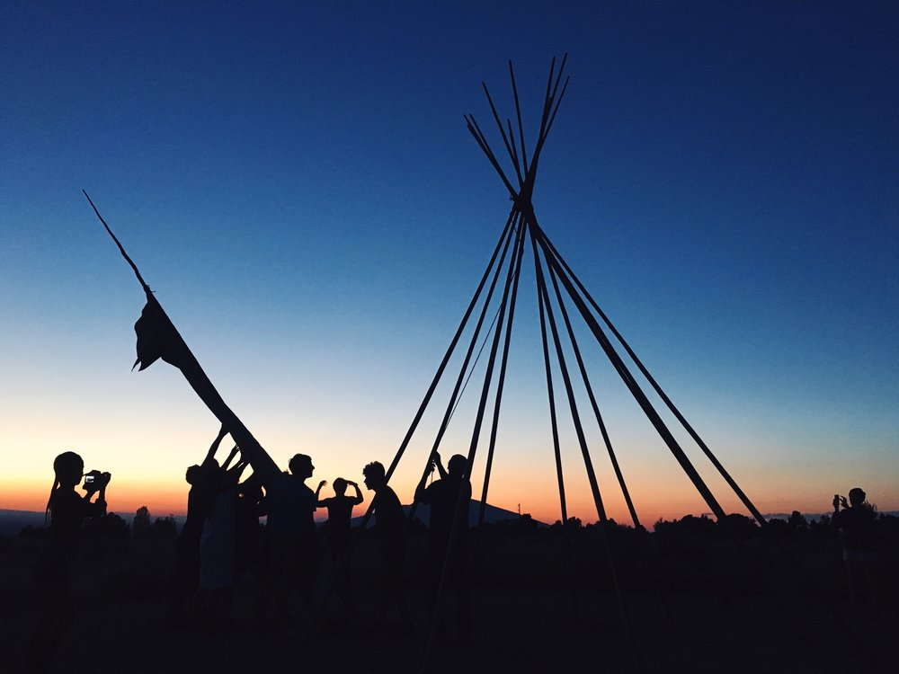 FRIDAY, JULY 7 | TIPI RAISING: ANCIENT SKILLS FOR A COMMUNITY SPACE