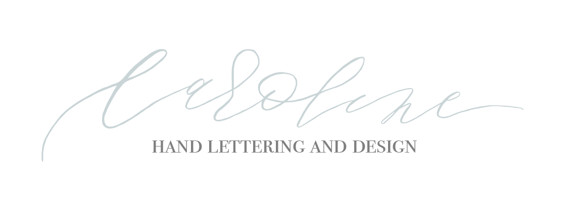 Caroline Hand lettering & Calligraphy