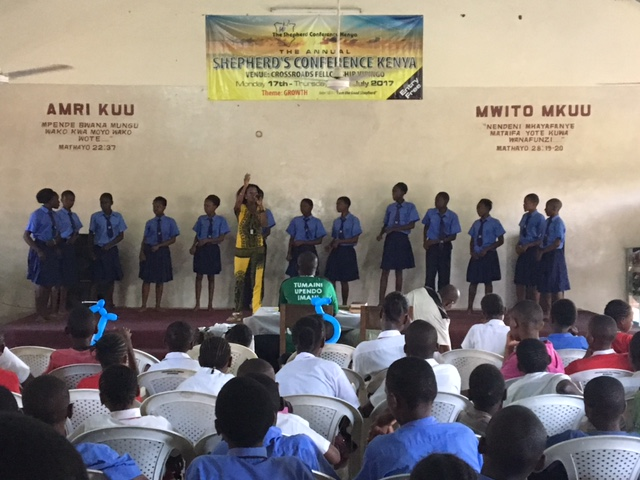 A school choir competition. They are so good!