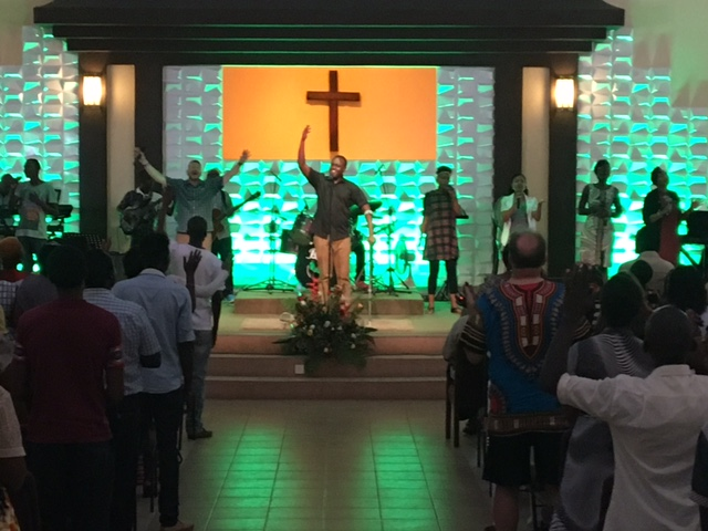 Worship is always a special experience.