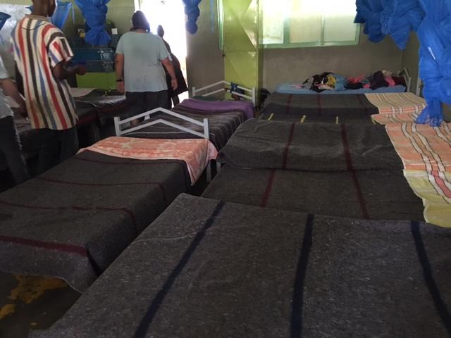 Hanzi's room. Twenty children and two adults.