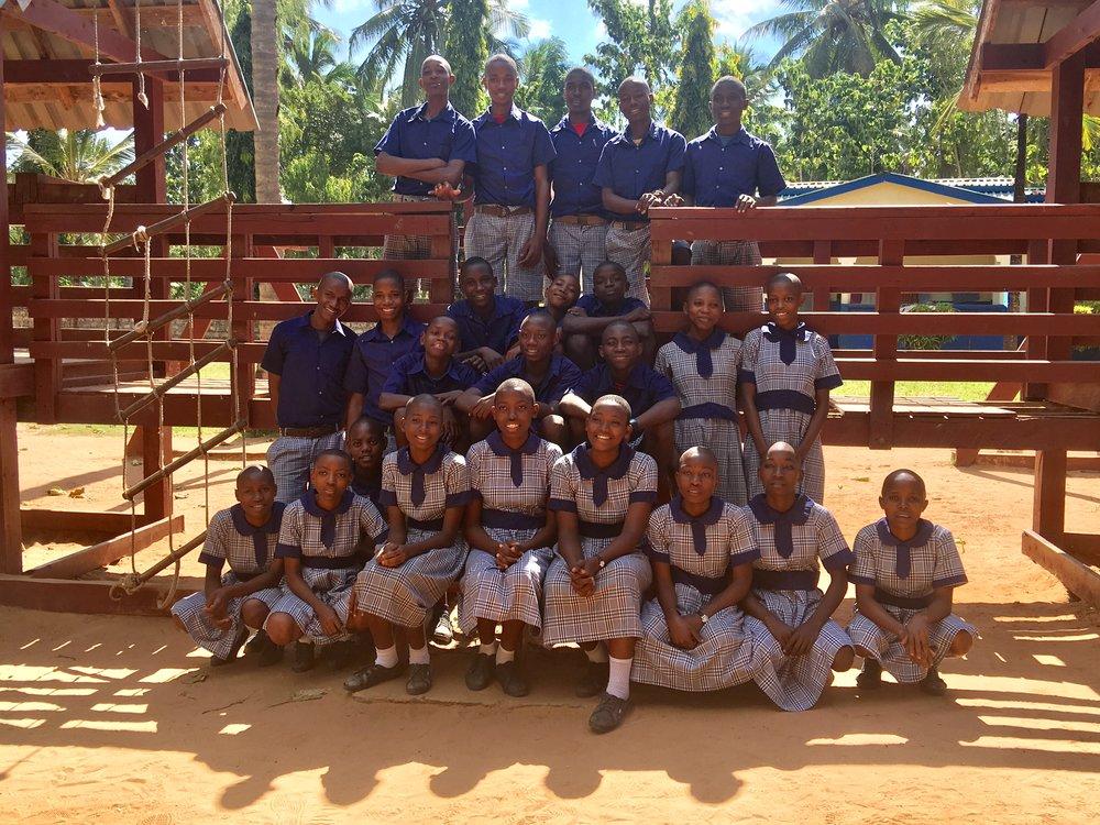Class 8 in Bomani
