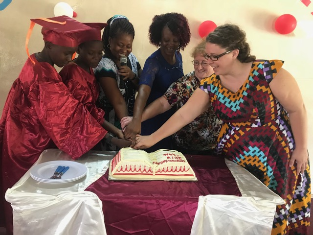 The cake cutting ceremony is a part of every Kenyan celebration