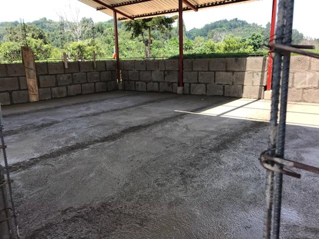 finished floor of children's building.