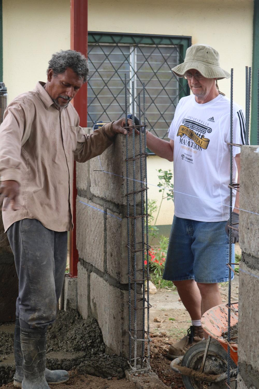 Don Bismark and Sam Working Together