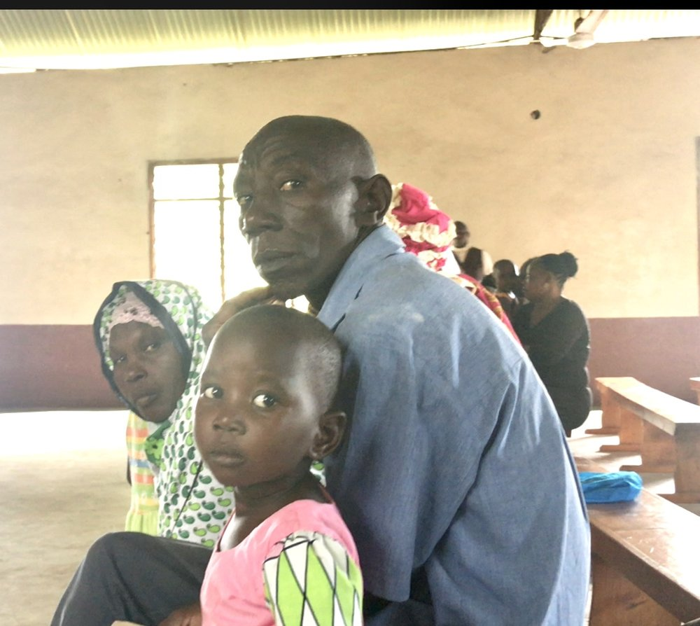 Family ready to get their girl a future.
