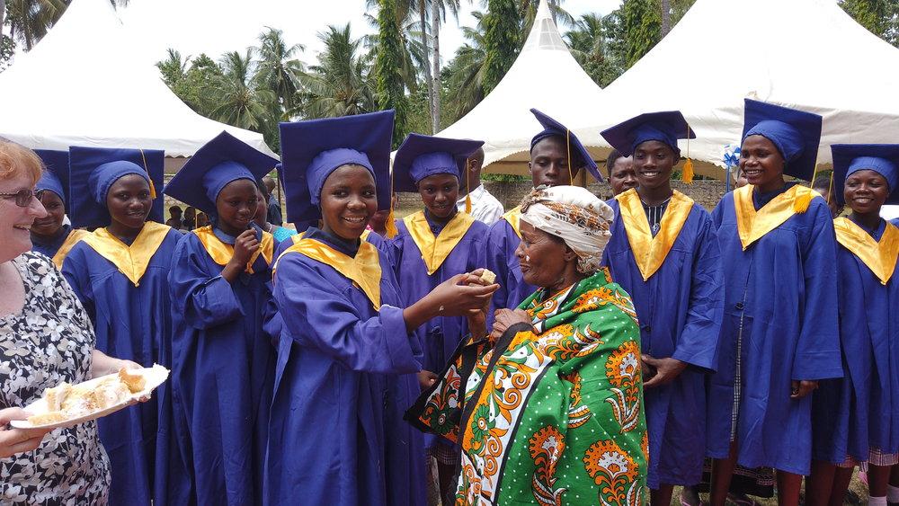 Grandma Enjoying the fruits of success
