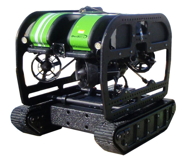 AUS-ROV SRS Fusion AUV ROV