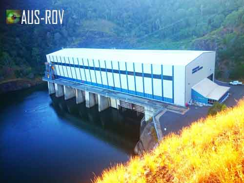500 Megawatt Pumped Storage Hydro Electric Power Station at Waivenhoe Dam.