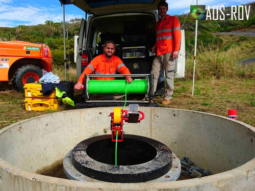 AUS-ROV Pipeline Inspection Team