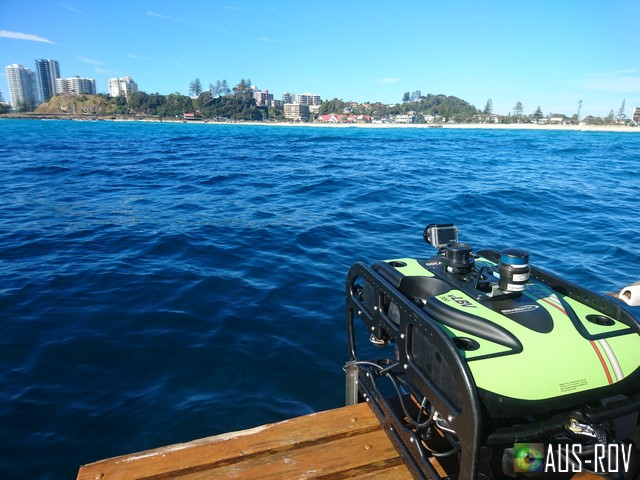 AUUS-ROV Kirra Reef Survey HD Zoom Camera + GOPRO
