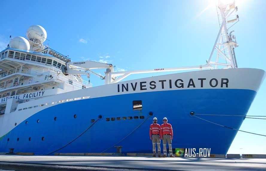 AUS-ROV CSIRO RV INVESTIGATOR