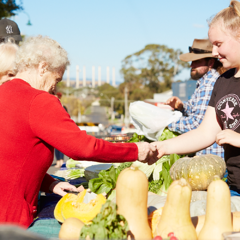 50 Mile Farmers Market -