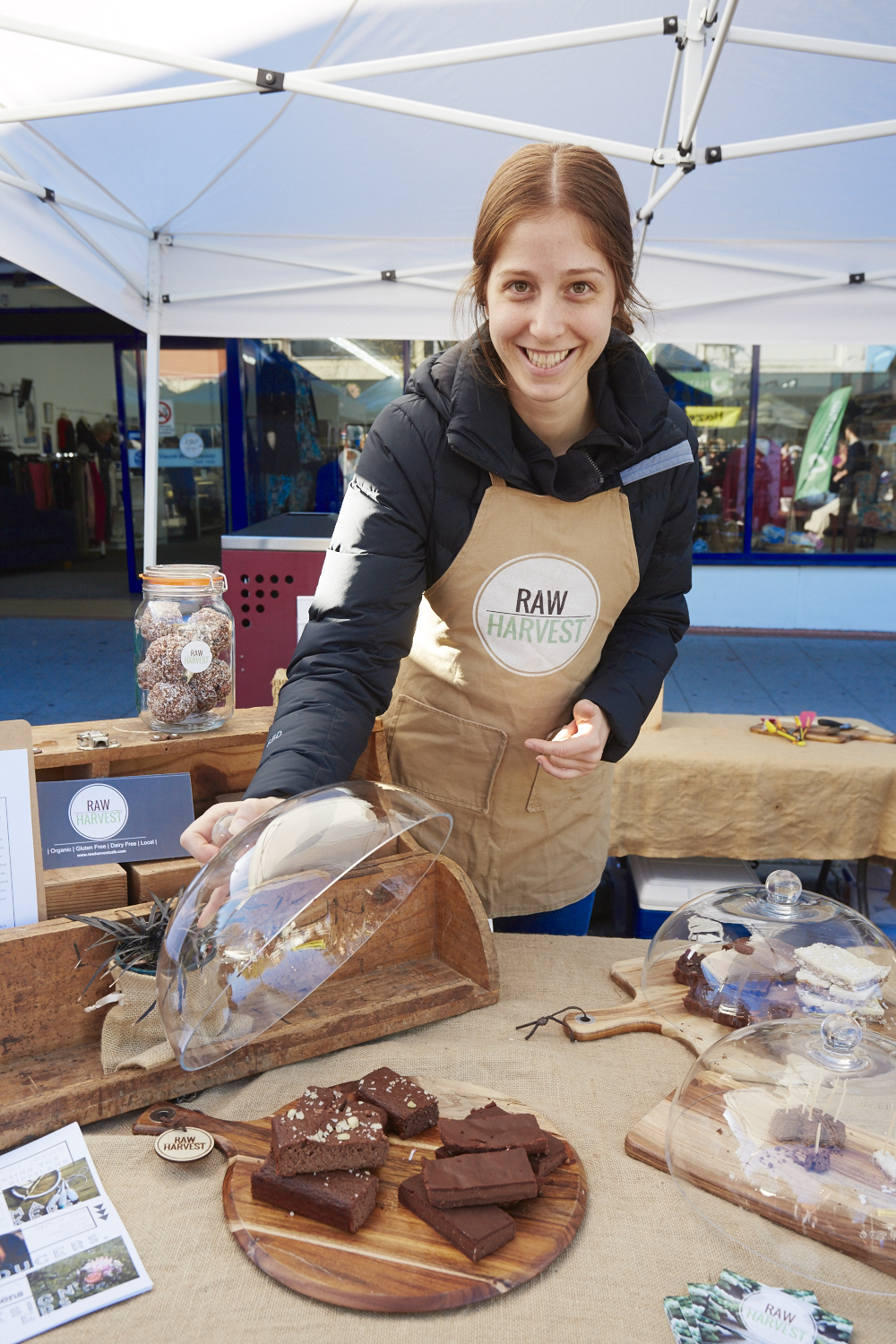 Lizi Maskiell of  Raw Harvest  fame is on the organising team for Get Cheffed.