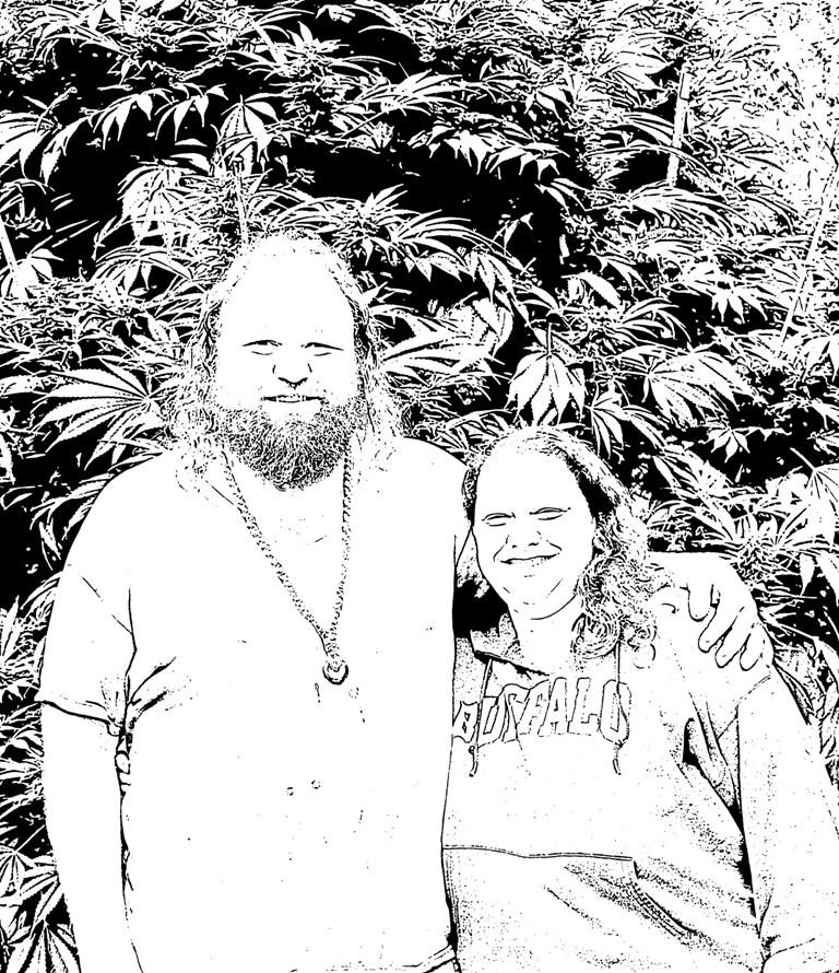 Cannabeizien Family, Oregon, 2016.