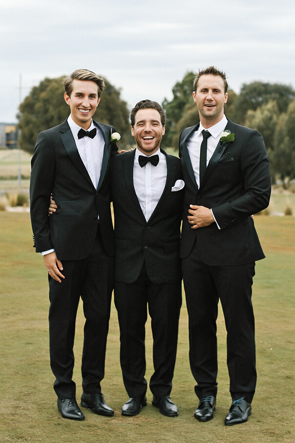 Same Sex Melbourne Wedding - Black Tie Formal