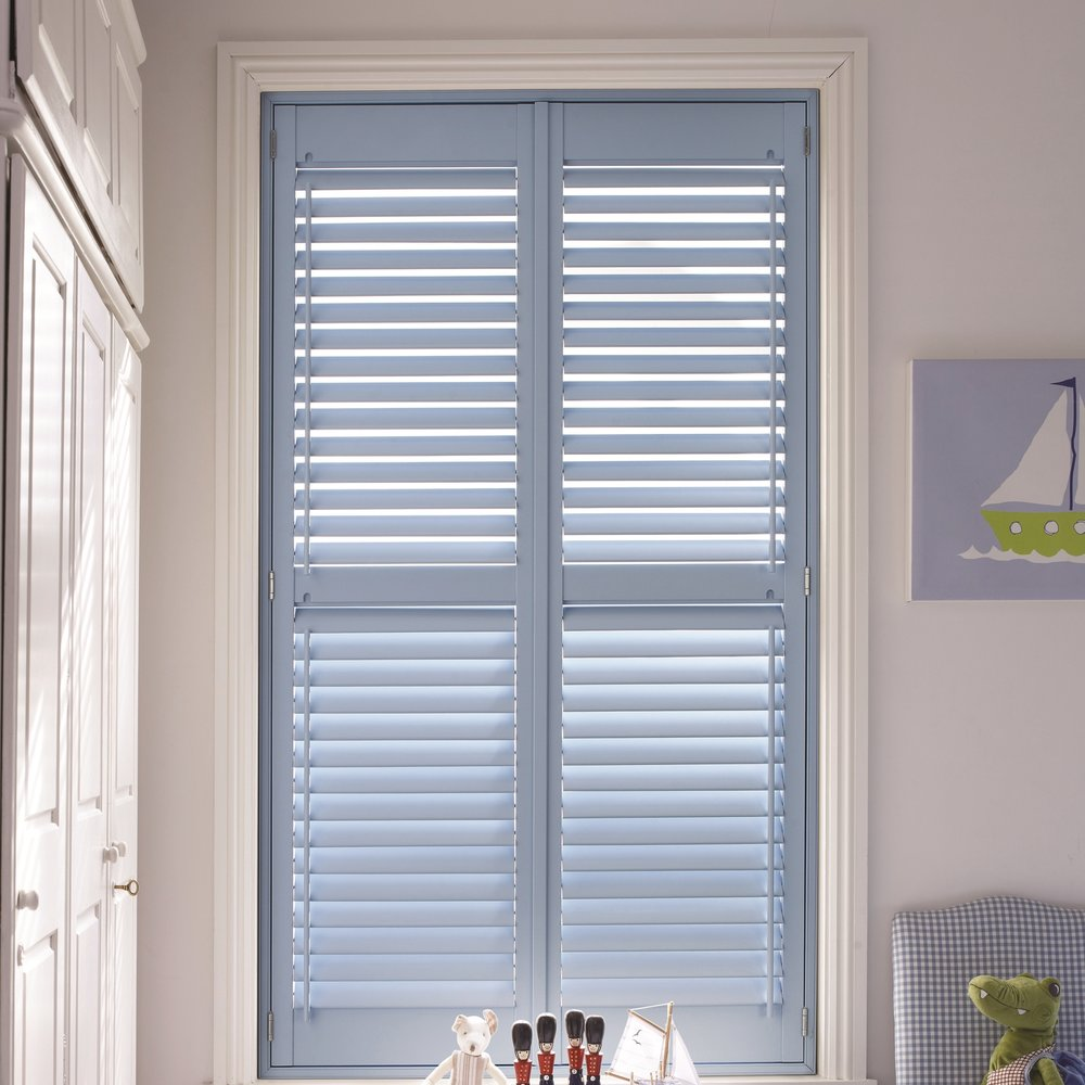 Plantation Style Shutters - & Window Blinds