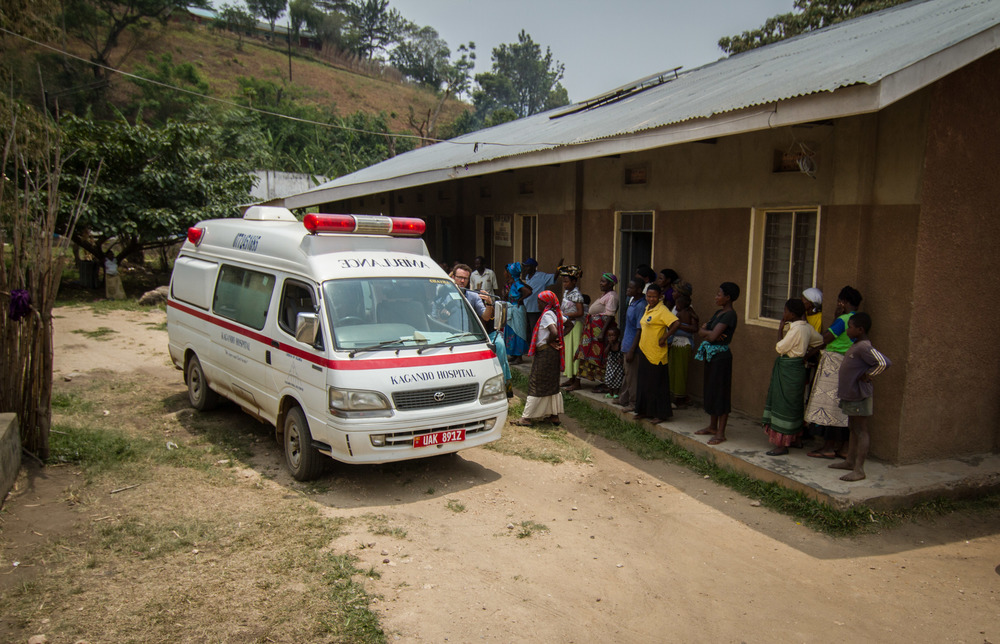 25 special hire taxis and 6 AMBULANCE drivers provide emergency transport from health centers to hospitals.