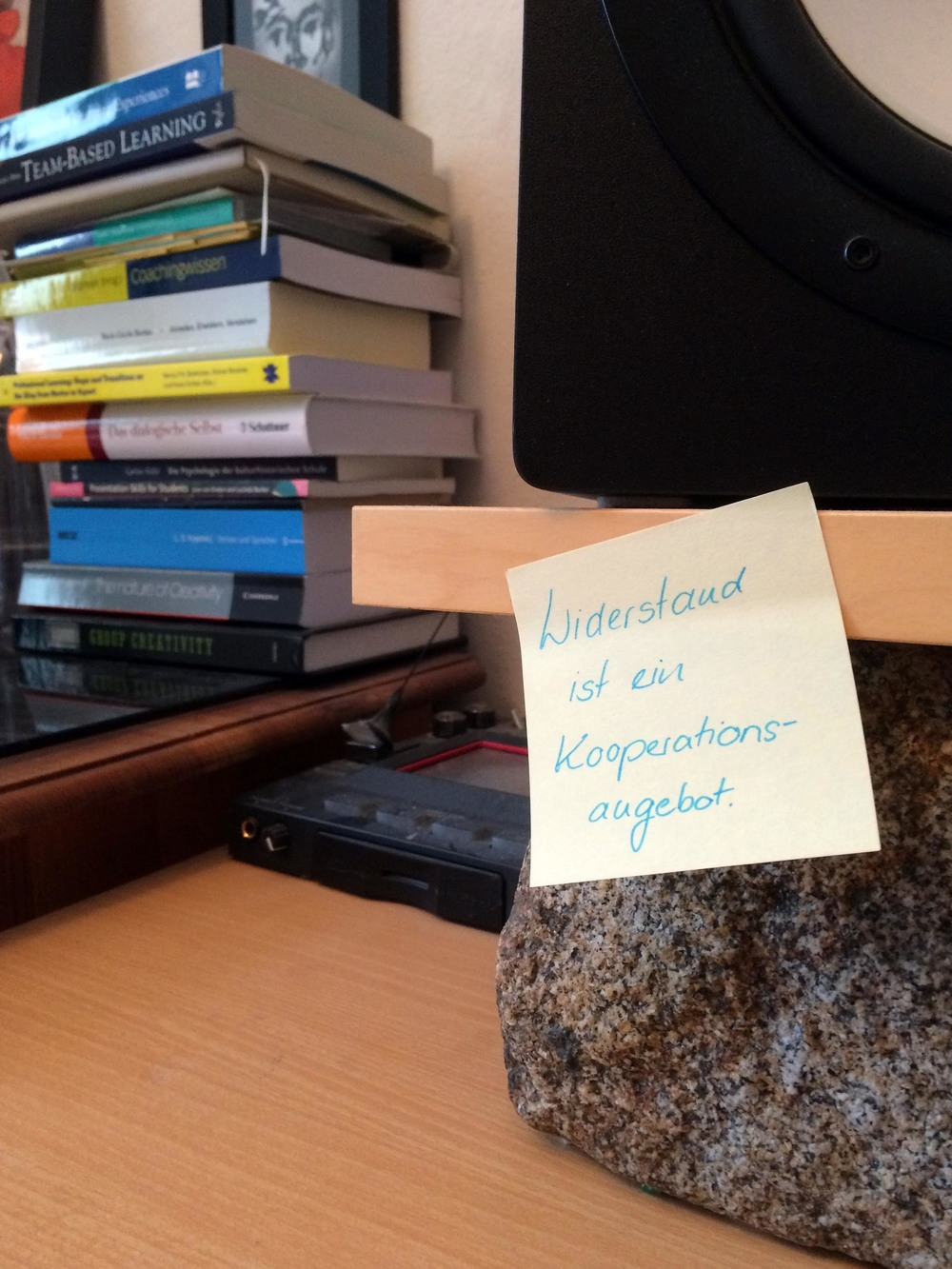 Widerstand Kooperationsangebot
